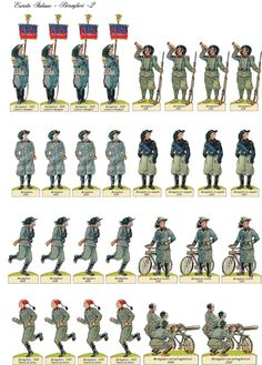 Loading Image Papercraft Anime, Digimon, Paper Doll House, Napoleonic Wars, Jumping Jacks, Toy Soldiers, Paper Models, Princesas Disney, Romans