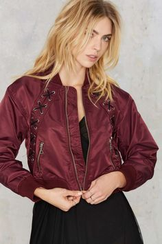 16 Cool Girl-Approved Bomber Jackets for Spring via Brit + Co