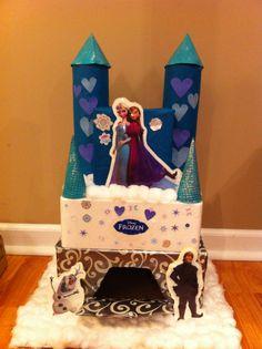 """""""Frozen"""" Valentine Box"""