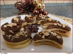 Cooking Cookies, Czech Recipes, Desert Recipes, Candy Corn, Confectionery, Christmas Cookies, Baking Recipes, Frosting, Sweet Treats