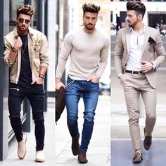 """3,709 Likes, 47 Comments - Mensfashion ▪️Street ▪️Style (@mensfashion_guide) on Instagram: """"Which do you prefer? 1, 2, or 3? Via @classydapper Follow @mensfashion_guide for more! By…"""""""