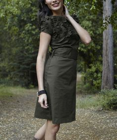 Shabby Apple Green Sequoia Dress