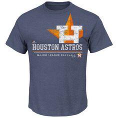 Houston Astros Blue Heathered Submariner Baseball
