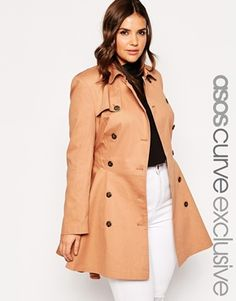 ASOS CURVE Exclusive Classic Trench