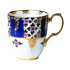 Royal Albert 100 Years 1900 Mug 141 oz Regency Blue *** Check this awesome product by going to the link at the image.