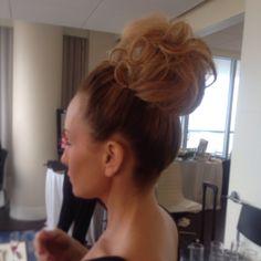 High bun for wedding guess