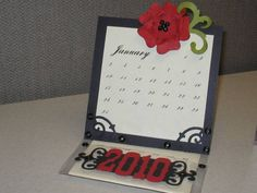 Calendar Easel card by Karenth1 - Cards and Paper Crafts at Splitcoaststampers