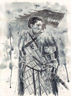 Ben Templesmith - Robb Stark