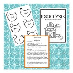 Rosie's Walk ideas on Google Docs from website:            http://stayandplaymama.blogspot.com/2010/02/story-activity-pack-rosies-walk.html