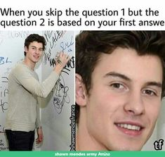 I'm back with some memes that I hope you all find funny. Obviously Shawn is lookin Really Funny Memes, Funny Relatable Memes, Funny Tweets, Funny Facts, Haha Funny, Funny Jokes, Hilarious, Shawn Mendes Cute, Shawn Mendes Memes