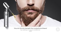 Men: Nourish the skin beneath the ‪#‎beard‬ and mustache by rubbing ‪#‎Rejuveniqe‬ in as a conditioner. ‪#‎Grooming‬ ‪#‎MONAT‬