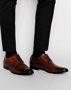 ALDO Deke Leather Brogue Shoes