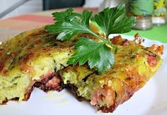 Zajímavé! Czech Recipes, Ethnic Recipes, What To Cook, Lasagna, Baked Potato, Quiche, Tapas, Zucchini, Food And Drink