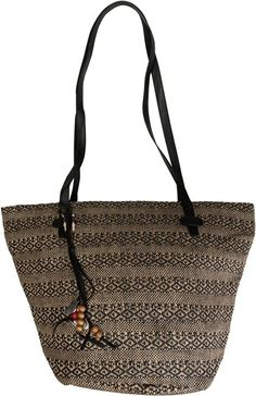 ROXY OUT TO SEA STRAW BAG.
