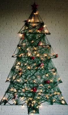 Mijn kerstboom voor dit jaar --> trots :-D