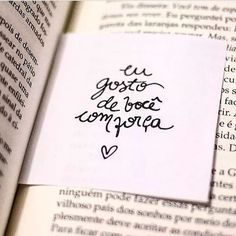 Eu gosto de você com Love You A Lot, My Love, Stupid Love, Kahlil Gibran, Romantic Quotes, Loving U, True Love, Texts, Romance