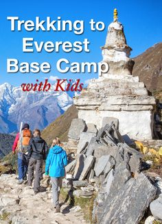 Trekking to Everest Base Camp with kids