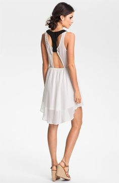 Lush Colorblock Cutout Dress (Juniors) available at Nordstrom 48