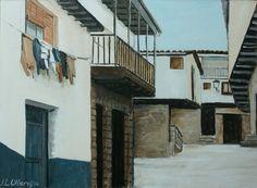 Calle en San Martín de Trevejo Scenery, Street