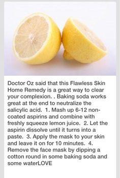 Flawless Skin Home Remedy
