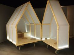 Yi Duo House, a house on wheels Tiny House, Micro House, Up House, Van Signage, Shop Signage, Mobile Architecture, Building Architecture, Temporary Architecture, Portable House