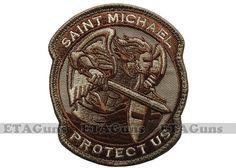 MilSpec Modern ST SAINT MICHAEL PROTECT Desert Military Combat Army Morale Patch