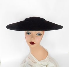 1b672eb0dea 560 Best Womens hats 1950s images in 2019