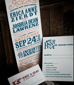 Beautiful invitations, for a beautiful wedding.