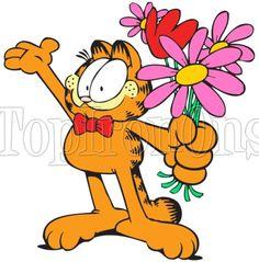 Garfield T Shirt Iron on Transfer #6