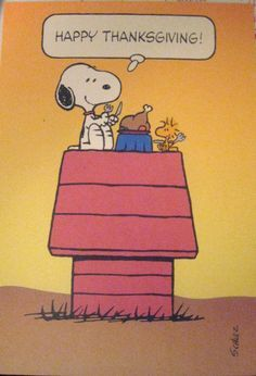Thanksgiving Snoopy