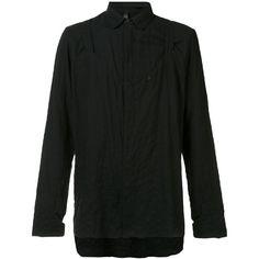 Barbara I Gongini oversized shirt (£560) ❤ liked on Polyvore featuring men's fashion, men's clothing, men's shirts, men's casual shirts, mens cotton shirts and mens oversized shirt