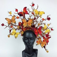 Here is the newest member of the Miss G family. I've always had a thing for butterflies so these pieces bring me so much joy. Sorry ladies she is already spoken for. @missgdesigns #headdress #headpiece #crown #branches #butterfly #butterflies #spring #missgdesigns #cherryblossoms