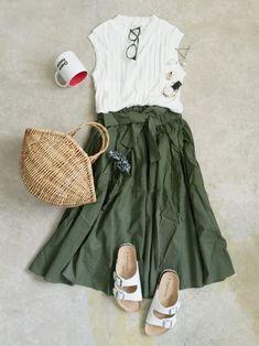 ナチュラル服のイタフラ│italie to france Skirt  Looks - WEAR