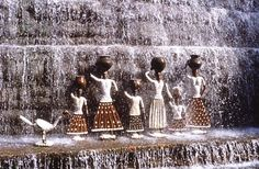 Nek Chand's Rock Garden is India's No. 2 attraction after the Taj Mahal but is little-known except to Indians. It covers 10 hectares with mythic creatures assembled like small armies, their bodies fashioned from urban waste — broken tiles, shattered pottery, chipped bangles and discarded electrical plugs.  Gloucestershire Resource Centre  http://www.grcltd.org/scrapstore/