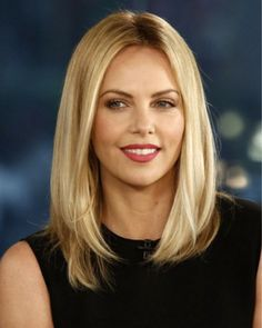 Awesome half long blond hair 2015