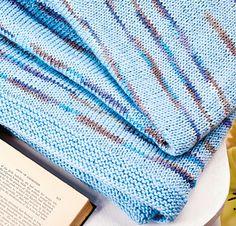 Serene Skies by Julie Ferguson - Let's Knit, issue 95, August 2015