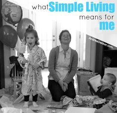 What Simple Living Means for Me