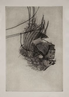 Anh Ta. mezzotint, line etching, tonal aquatint, sugar lift, engraving, and chine-collé | 12x18 in