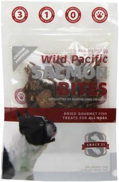 Snack 21 Salmon Marrow Bites for Dogs ** Hurry! Check out this great product : Dog treats
