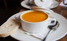Butternut Squash Soup with Ginger