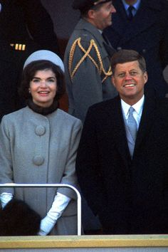 President Kennedy and Mrs. Kennedy