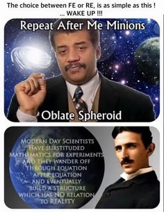 Modern phony actor Neil Degrasse Tyson (like BIll Nye the actor guy on Almost Live as an entertainer, not scientist) vs scientist Nikola Tesla (excluded from our history books), the real inventor of electricity before Edison the businessman stole his ideas and sold it.
