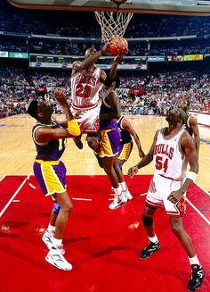 Michael Jordan vs Lakers