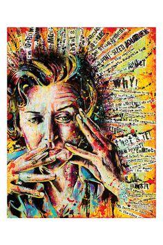 "Anne Sexton - ""Queen of This Condition"" - 12 x 18 High Quality Pop Art Print Anne Sexton, Kunst Inspo, Art Inspo, Advanced Higher Art, A Level Art Sketchbook, Art Alevel, Multimedia Arts, Identity Art, High Art"