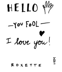 Roxette. Joyride.