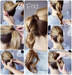 Cute Easy Quick Hairstyle