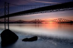 Best way to get to Crail: sleeper train that crosses Forth Bridge at dawn