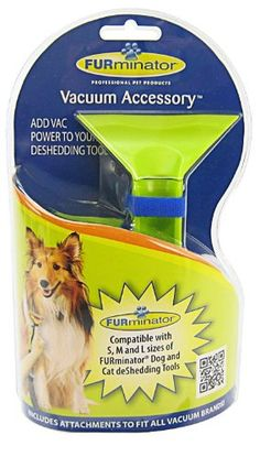 "Brand New FURMINATOR – United Pet Group – FURminator VACUUM ACCESSORY ""DOG PRODUCTS – DOG GROOMING – TOOLS"" « DogSiteWorld.com"