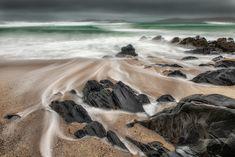 Bagh Steinigidh, Hebrides (Harris) - Turbulent wave action at Bagh Steinigidh on the Isle of Harris in the Hebrides. Isle Of Harris, Scotland, Waves, Action, Outdoor, Outdoors, Group Action, Outdoor Living, Garden