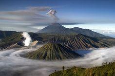 Mt. Bromo, Indonesia http://www.tourismontheedge.com/places/asia/bromo-tengger-semeru-an-unworldly-national-park.html
